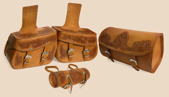 Moto Set Western Orange